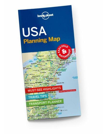 Cartographia  - USA útvonaltervező térkép Lonely 2017