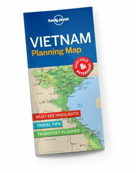 Cartographia  - Vietnám útvonaltervező térkép Lonely Planet