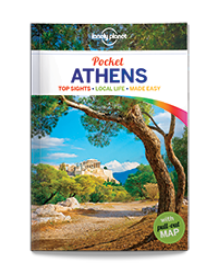 Cartographia  - Athén útikönyv Lonely Planet