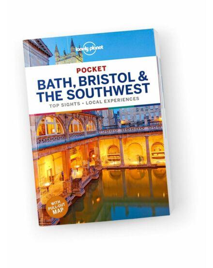 Cartographia  - Bath, Bristol és Délnyugat Pocket útikönyv Lonely Planet