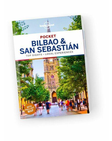Cartographia  - Bilbao és San Sebastian Pocket útikönyv (angol) Lonely Planet