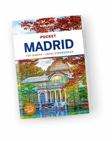 Cartographia  - Madrid Pocket útikönyv Lonely Planet