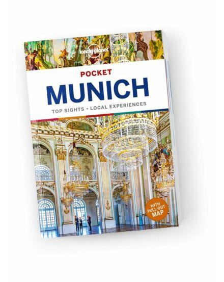 Cartographia  - München Pocket útikönyv Lonely Planet angol