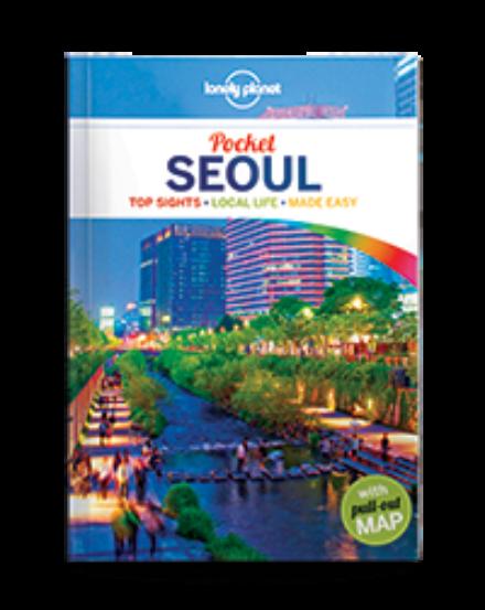 Cartographia  - Szöul Pocket útikönyv (angol) Lonely Planet