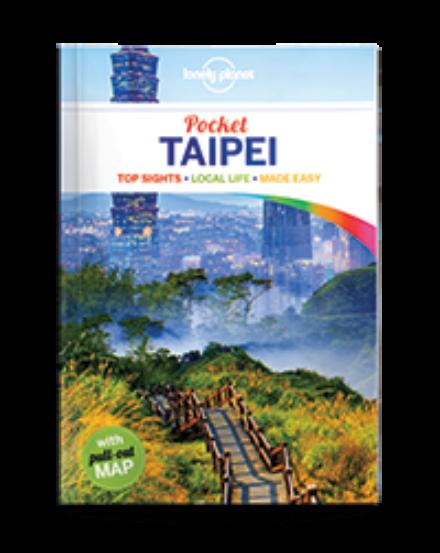 Cartographia  - Taipei Pocket útikönyv (angol)