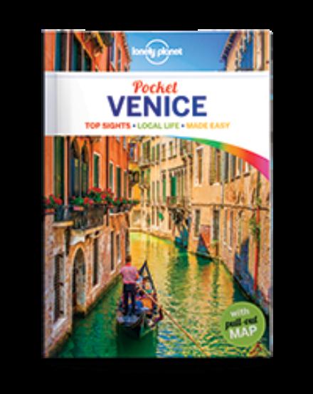 Cartographia  - Pocket Venice Velence útikönyv Lonely Planet