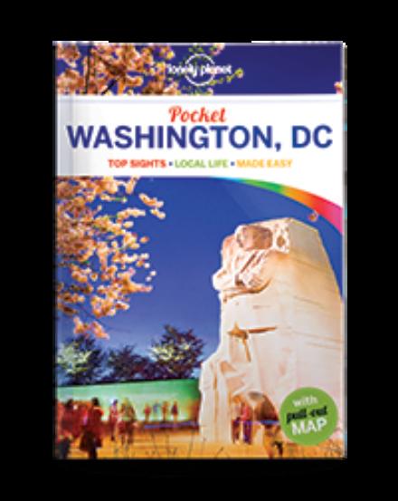 Washington Pocket útikönyv Lonely Planet