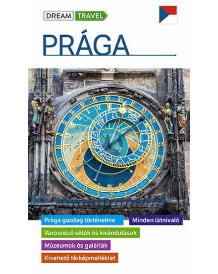 Prága útikönyv - kivehető térképmelléklettel