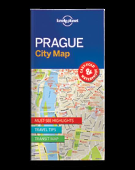 Cartographia  - Prága laminált térkép Lonely Planet