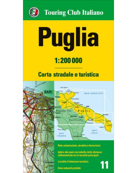 Cartographia  - Puglia régiótérkép