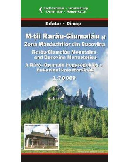 Cartographia  - Ráró-Gyamaló és a Bukovinai kolostorvidék turistatérkép