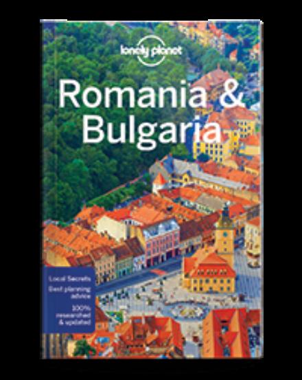 Cartographia  - Románia és Bulgária útikönyv Lonely Planet