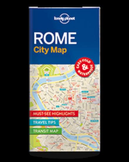 Cartographia  - Róma laminált térkép Lonely Planet