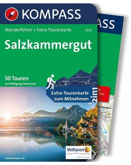 Cartographia  - K 5627 Salzkammergut turistakalauz térképpel