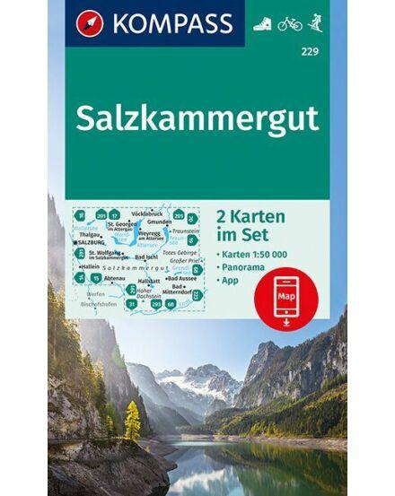Cartographia  - K 229 Salzkammergut turistatérkép