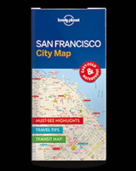 Cartographia  - San Francisco laminált térkép Lonely Planet