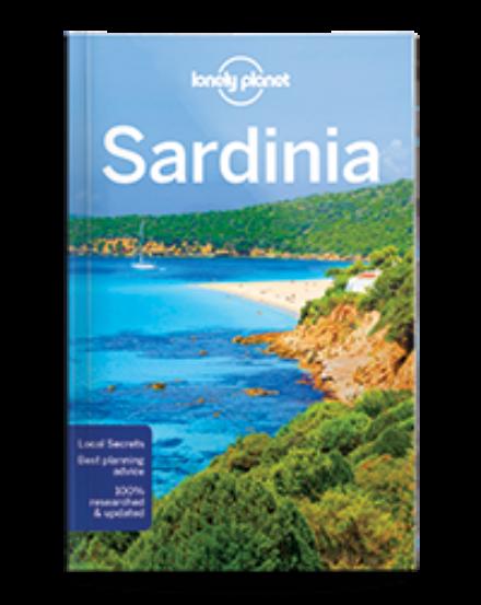 Cartographia  - Szardínia útikönyv Lonely Planet