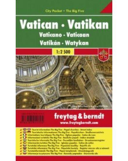 Cartographia  - Vatikán City Pocket várostérkép