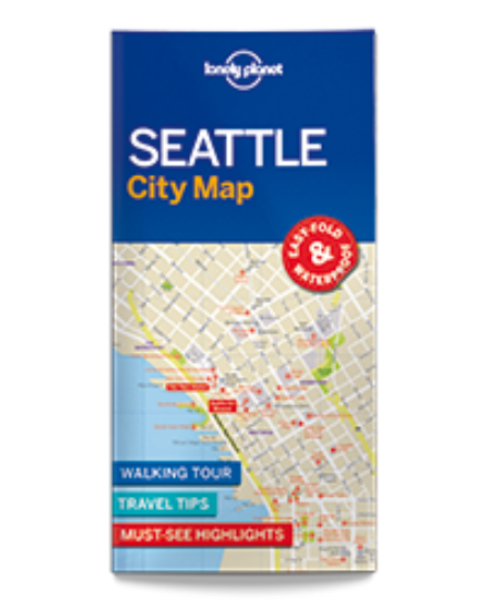 Cartographia  - Seattle laminált térkép