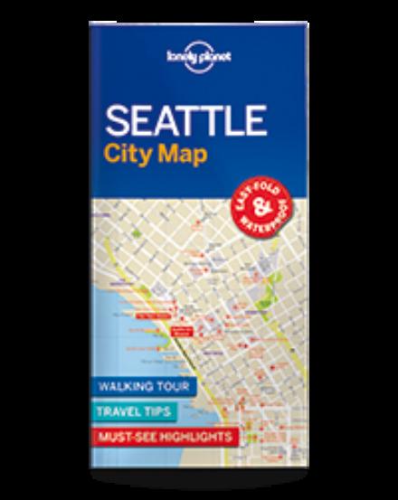 Cartographia  - Seattle laminált térkép Lonely Planet