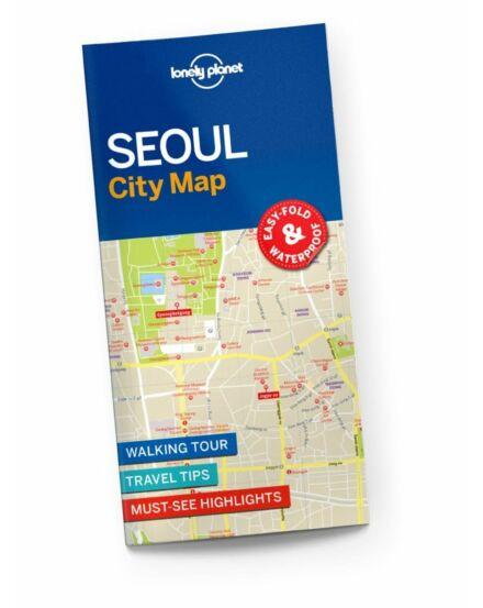 Cartographia  - Szöul laminált térkép Lonely Planet
