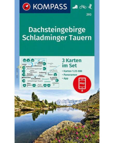Cartographia  - K 293 Dachsteingruppe, Schladminger Tauern turistatérkép