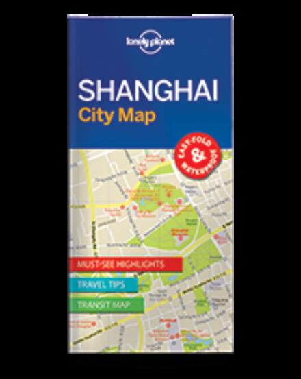 Cartographia  - Shanghai laminált térkép