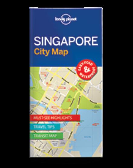 Cartographia  - Szingapúr laminált térkép Lonely 2017