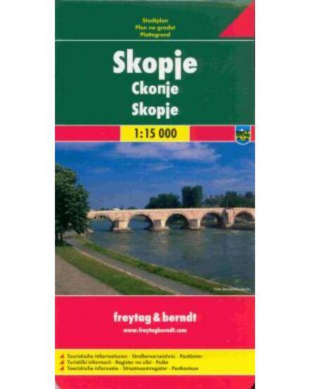 Cartographia  - Skopje várostérkép