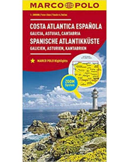 Cartographia  - Spanyol tengerpart (Galicia, Asztúria, Kantábria) térkép