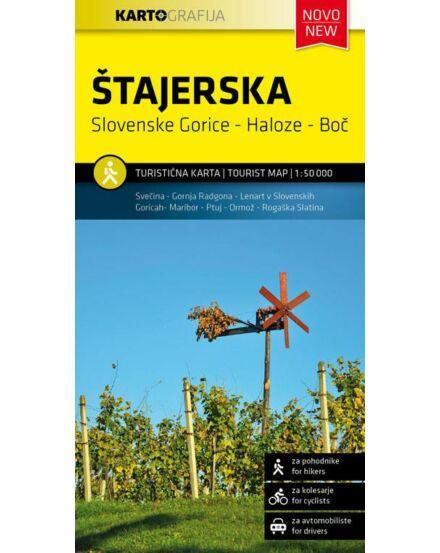 Cartographia  - Stajerska turistatérkép