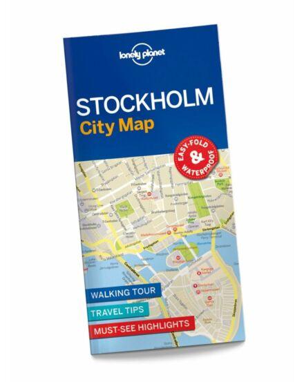 Cartographia  - Stockholm laminált térkép Lonely Planet