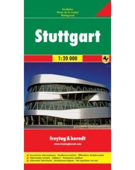 Cartographia  - Stuttgart várostérkép