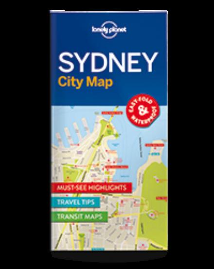 Cartographia  - Sydney laminált térkép