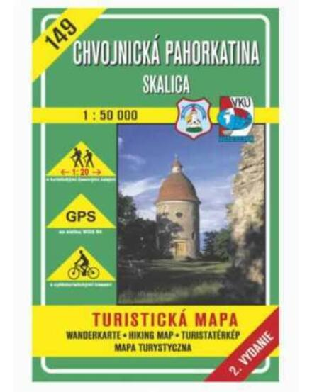Cartographia  - HM149 Chvojnicei-dombság, Szakolca turistatérkép
