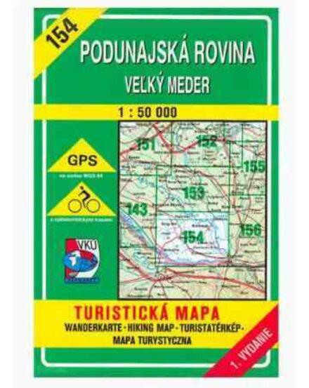 Cartographia  - HM154 Duna menti síkság, Nagymegyer turistatérkép