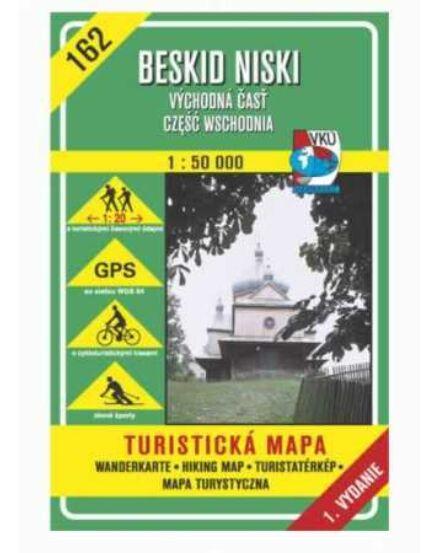 Cartographia  - HM162 Alacsony-Beszkidek (kelet) turistatérkép