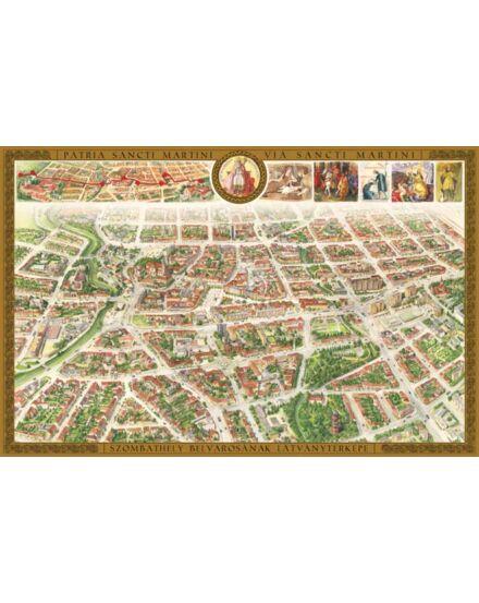 Cartographia  - Szombathely belvárosa látványtérkép