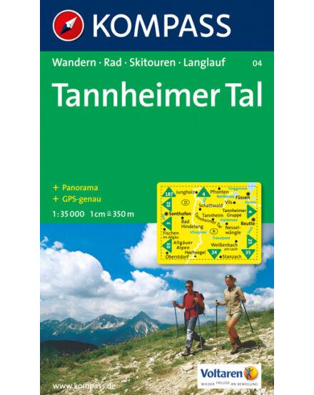 Cartographia  - KOMPASS Wanderkarten: Tannheimer Tal
