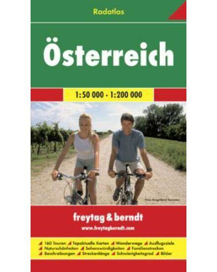 Cartographia  - Ausztria kerékpáros kalauz