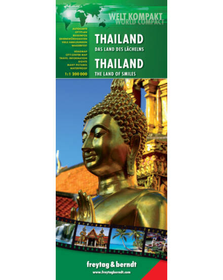 Cartographia  - Thaiföld World Compact térkép