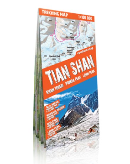 Cartographia  - Tien-San trekking térkép (laminált)