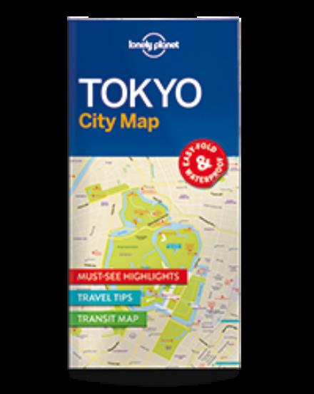 Cartographia  - Tokió laminált térkép Lonely Planet