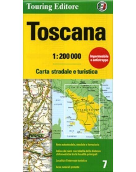 Cartographia  - Toszkána régiótérkép