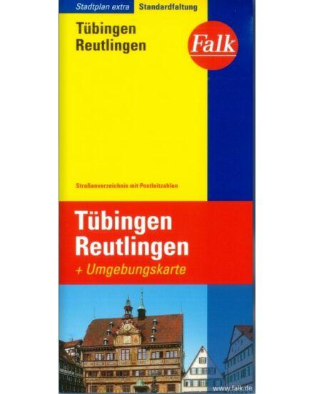 Cartographia  - Tübingen és Reutlingen Extra várostérkép