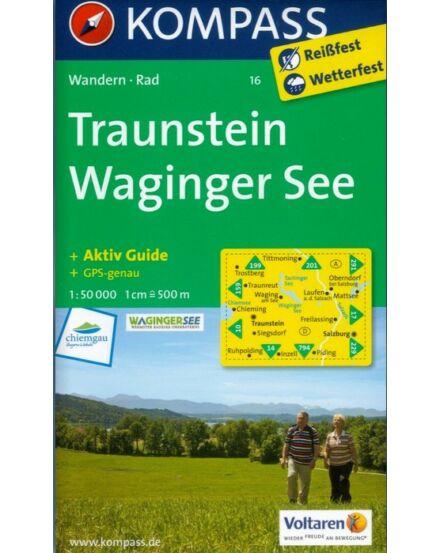 Cartographia  - K 16 Traunstein, Waginger See turistatérkép