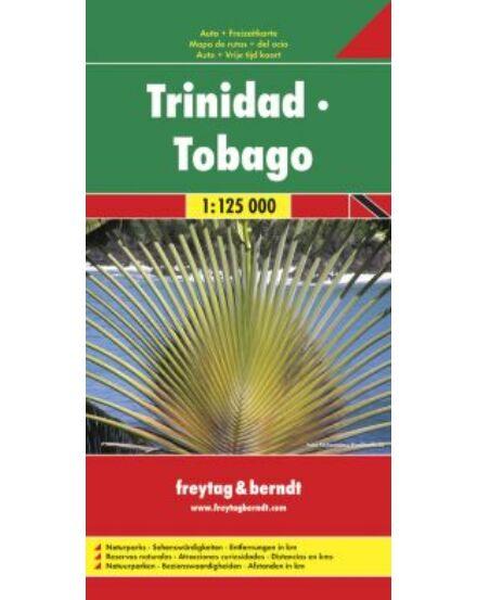 Cartographia  - Trinidad-Tobago térkép