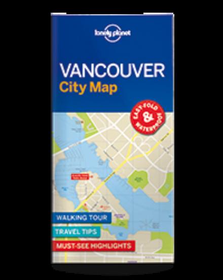 Cartographia  - Vancouver laminált térkép Lonely Planet