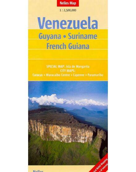 Cartographia  - Venezuela/Guyana térkép