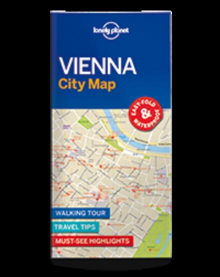 Cartographia  - Bécs laminált térkép Lonely 2017